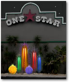 Our Lighted Cactus Plants and Trees for Texan Style Restaurants