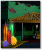 Our Lighted Plants and Trees for Mexican Food Restaurants